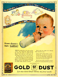 gold dust advertisement