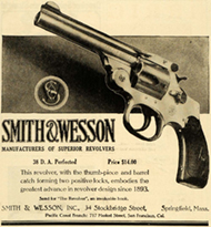smith and wesson advertisement